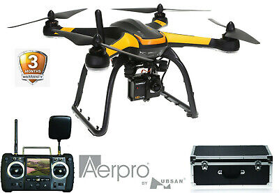 AU539.48 • Buy Aerpro Professional 1080p Inspection Drone Full HD Camera, Accurate GPS *RFB*