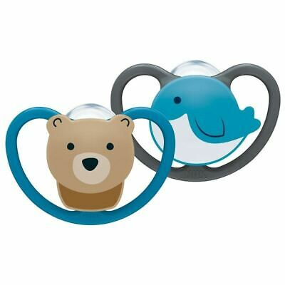 AU20.33 • Buy NUK Space Soother Bear/Whale 0-6m