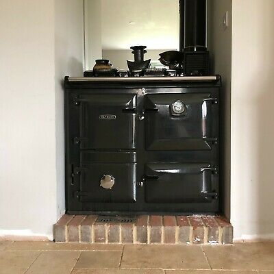 £2900 • Buy RAYBURN 355SFW Oven And Boiler PEWTER, Excellent Condition, New Back-boiler.