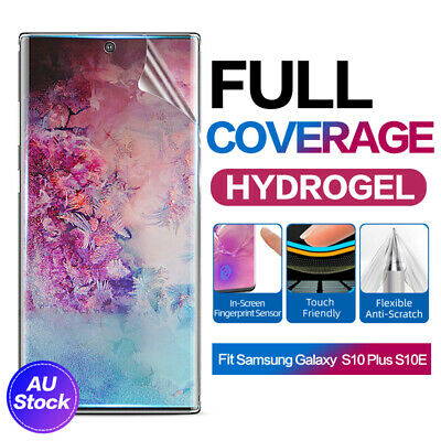 AU2.95 • Buy Samsung Galaxy S10 S9 Plus Note 10 9 5G HYDROGEL Full Coverage Screen Protector