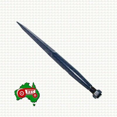 AU75 • Buy Tractor Loader Tine Straight Conus 1 - 1100mm (43 ) Bale Hay Silage Forks Tyne