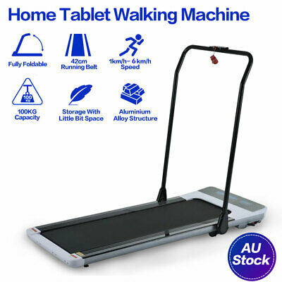 AU459 • Buy 【HOT SALE】Electric Treadmill Walking Pad Running Machine With Handrail Fitness