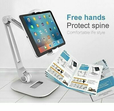 AU59.99 • Buy Bed/ Desk Tablet Stand For IPad 2 3 4/ Mini/ Air IPhone Adjustable IPad Pro