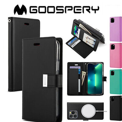 AU11.99 • Buy Wallet Case Fit IPhone 12 Pro Max Cover Flip 11 Pro X Xr Xs Max Card Leather