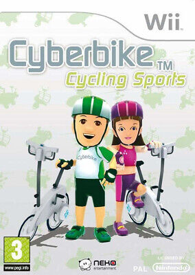 Cyberbike Cycling Sports - Nintendo Wii / Wii U - Cyber Bike Cycle - NEW SEALED • 14.95£