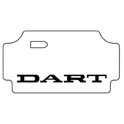 $283.99 • Buy Trunk Floor Mat Cover For 67-69 Dodge Dart High Definition Rubber W/MA-015 Dart