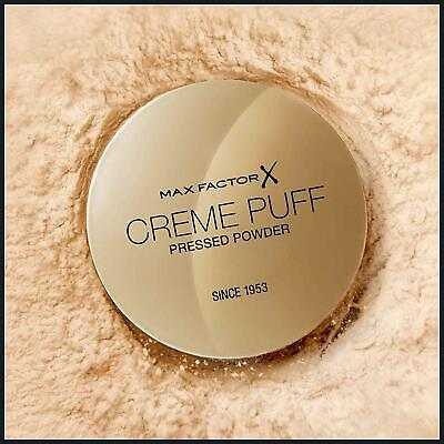 Max Factor Creme Puff Compact Pressed Face Powder 21g *Choose Your Shade* • 5.99£