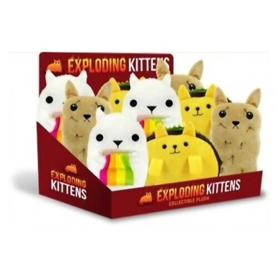 AU15.99 • Buy Exploding Kittens Collectible Plush Assorted Brand New