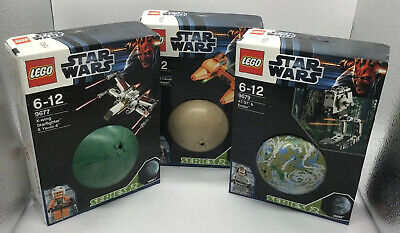 Lego Star Wars Planet Sets Series 2 9677 - 9679 From 2012 ** Brand New ** • 99.99£