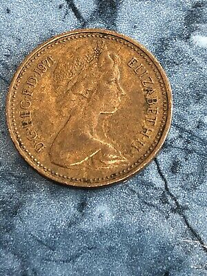 1p 1971 NEW PENCE Rare Coin X 1 Collectable One Penny Coin Extremely Rare • 249£