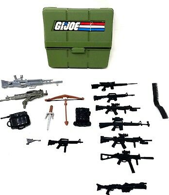 $ CDN36.83 • Buy Small Lot Of GI Joe Weapons Guns Accessories For 12 Inch Action Figure