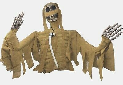 $47.99 • Buy HALLOWEEN Life-Size POSABLE Mummy SKELETON Torso Prop Yard Party Décor
