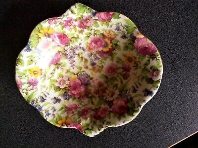 $ CDN56.96 • Buy Large Royal Winton Summertime Chintz Pottery Dish Bowl Grimwades England