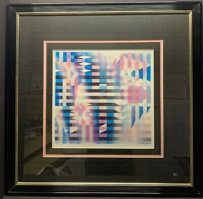 $1777.77 • Buy YAACOV AGAM  Agamograph Signed, Numbered And Framed 59/99