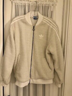 AU248.14 • Buy Adidas Sherpa Jacket Urban Outfitters Sold Out
