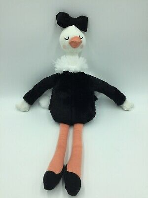 $20.69 • Buy Pillowfort Ostrich Plush Target Plush Stuffed Animal Black Ballerina Doll Toy D