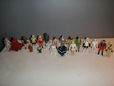 $ CDN169.99 • Buy Star Wars Vintage Kenner Lot Of 24 Loose Figures Power Droid Luke Yoda More