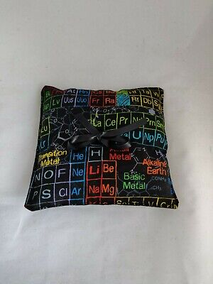 Periodic Table Wedding Ring Pillow - Ring Cushion- Ring Bearer Pillow - Science • 5.99£