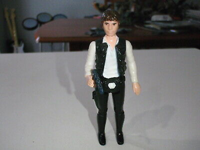 $ CDN69.99 • Buy STAR WARS Vintage HAN SOLO Complete Action Figure HONG KONG Large Head