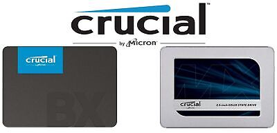 AU84.40 • Buy SSD Crucial 2.5  SATA III 120G 240G 250G 480GB 1TB Solid State Drive MX500 BX500
