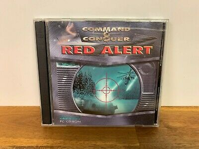 AU15.99 • Buy Command & Conquer Red Alert Soviet / Allied PC CD-ROM Game Westwood Studios