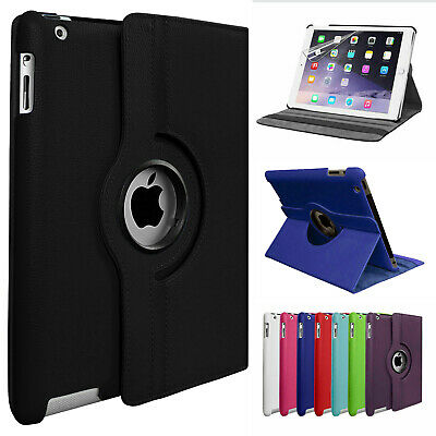£5.99 • Buy Leather 360 Rotating Smart Case Cover For Apple IPad Air 1st Gen - IPad Pro 12.9
