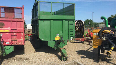 Weeks 11T Silage Trailer (2013) - PRICE INCLUDES VAT • 9,000£