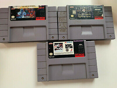 $ CDN30 • Buy Snes Video Game Lot (Super Nintendo)