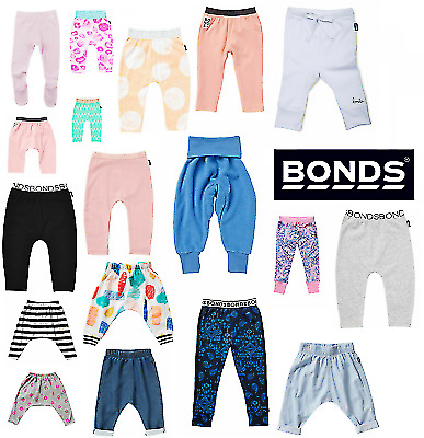 AU8.99 • Buy BONDS BABY LEGGINGS / PANTS Bottoms Toddler Tracksuits Trousers Girls Boys