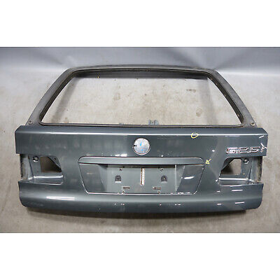 $225 • Buy 1999-2003 BMW E39 5-Series Touring Wagon Rear Trunk Lid Tail Gate Door Grey OEM