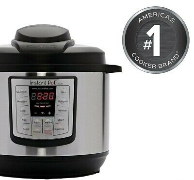 $189.99 • Buy * NEW* Instant Pot 6 In 1 Programmable Pressure Cooker 6 Quart Instapot LUX60 V3