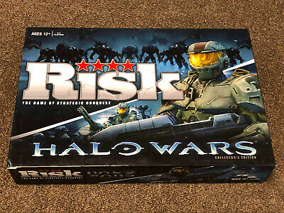 $24.99 • Buy Risk Halo Wars Collector's Edition Board Game 2009 Hasbro XBOX360 USAopoly 100%