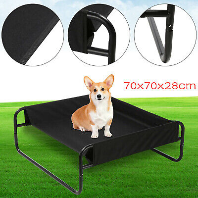 Elevated Dog Bed Pet Cat Raised Sides Camping Cot Indoor Outdoor Waterproof • 15.99£