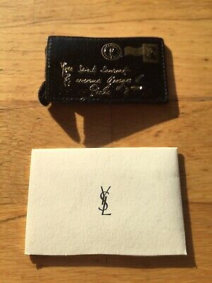 YSL Yves Saint Laurent Beauty Purse Makeup Mirror With Patent Pouch ~ New In Bag • 40£