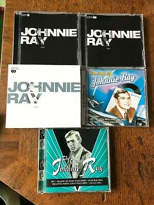 3 X Johnnie Ray CD Bundle Cry (Double CD), The Best Of & The Great • 3.74£