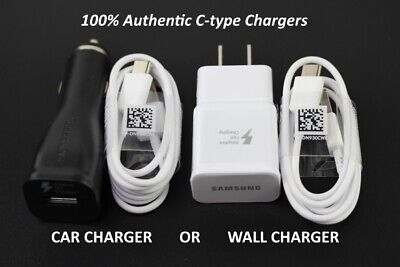 $ CDN9.48 • Buy Original Samsung Galaxy Note10 S8 S9 S10 Plus Fast Car Wall Charger Type-C Cable