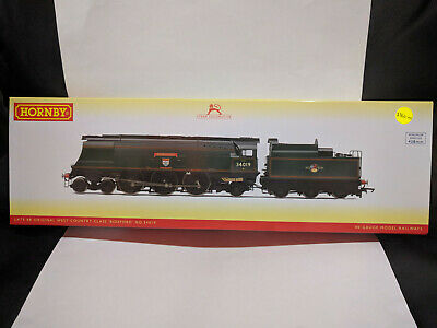Hornby R3638 Late BR Original West Country Class Bideford No 34019 BNIB • 202.39£