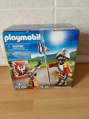New Playmobil Easter Egg Set 70086 Knight With Cannon  • 6.99£