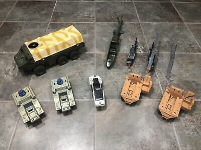 $ CDN55 • Buy Vintage Gi Joe Toy Lot Snow Mobile Tanks 1980's Vehicles Hasbro Parts #5