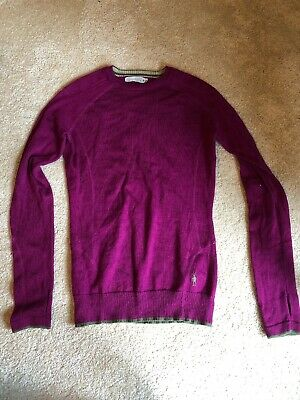 $30 • Buy Smartwool Womens S Sweater Crew Neck  Merino Wool