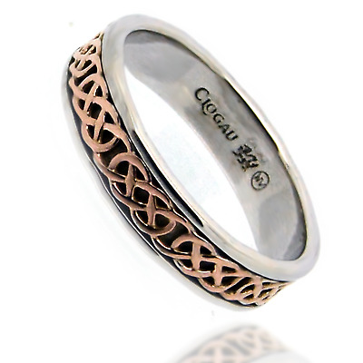 Clogau Ring Size J,L,M,N,O,P,Q,U,V Welsh Silver 9ct Rose Gold Annwyl Gift Wrap • 109.99£