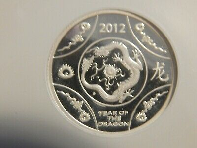 $59.99 • Buy 2012 $1  Australia Year Of The Dragon NGC PF70 UC Silver Coin