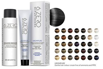 Professional Hair Colours Ammonia Free 35 Shades + 200ml Peroxide 20/30/40 Vol • 9.99£
