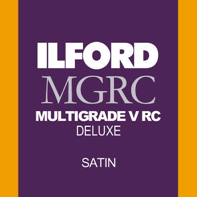 Ilford Multigrade RC Satin 8x10 Inches 100 Sheets • 59.95£