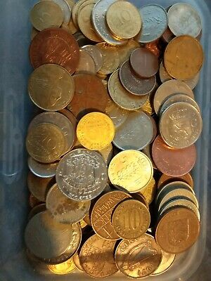 Job Lot  Mixed WORLD / FOREIGN Coin  Coins  • 0.99£