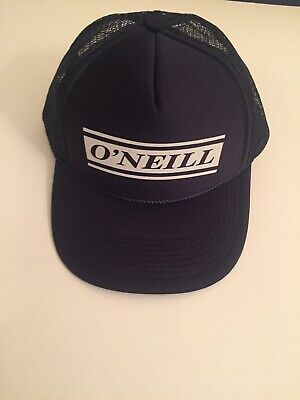 $3.15 • Buy O'NEILL Surf Navy Blue Snapback Trucker Hat Otto Collection OSFM