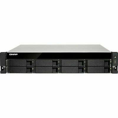 $ CDN7595.99 • Buy QNAP TS-873U-RP 80tb NAS Server 8x10TB Harddrives 64gb Ram