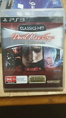 AU25 • Buy PS3 - Devil May Cry HD Collection Like NEW
