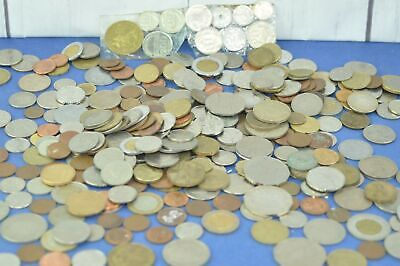 Job Lot 2.4 KG Coins Mixed World/Foreign Currencies, Hong Kong, Australia Etc.   • 12.50£