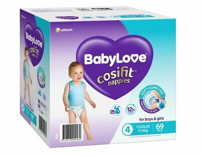 AU23.99 • Buy BabyLove Nappies Jumbo Pack Toddler 69 Pack